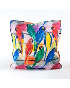 Pillow Cover Parrots