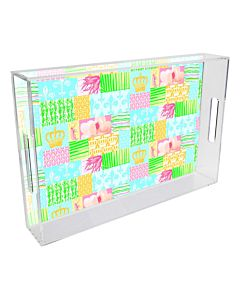 TRAY LUCITE TOILE PB 11X17
