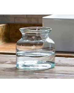 VASE ARTISAN GLASS CLEAR